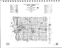 Mills County Highway Map, Montgomery County 1989